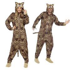 Costume leopardato Tuta corpo lucido unisex stampa da animale