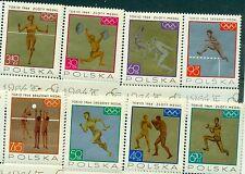 OLYMPIC GAMES TOKIO 1964 POLAND 1965 Medal Winners