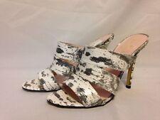 Kate Spade New York Fission Slide Mule Sandal 8 M Tejus Lizard Print  New w/ Box