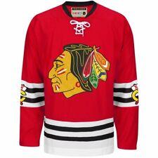 CCM NHL Men's Chicago Blackhawks Throwback Premier Edge Jersey, Red