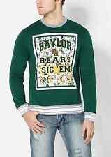 BAYLOR BEARS NCAA SIC EM 1845 SPLATTERED SWEATSHIRT