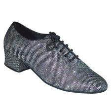 Señoras Zapatos De Baile Jive Tango Salsa línea América Uk 3 - 8