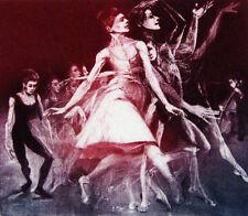 """G H Rothe """"Virtuosity"""" Original Mezzotint ballet Hand SIGNED FINE ART MAKE OFFER"""