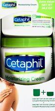 Cetaphil Moisturizing Cream Dry Sensitive Skin Lotion Family-Size 8.8 20 28.8 oz
