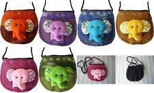 Kinder Brustbeutel Brusttasche Elefant en Smartphone Reise Tasche Baumwolle neu