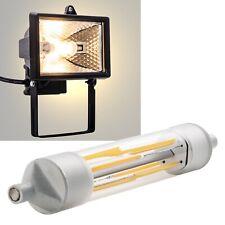 Filament R7s Led Leuchtmittel 118mm 230V 6W, EEK A+, Fluter Halogenstab Ersatz