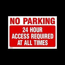 Pas de parking accès 24 / 24h-signe de métal 3 mm - 3 tailles (misc29)