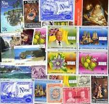 NIUE collections de 25 à 200 timbres différents