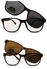 Unique Bifocal Reading Glasses with Magnetic Polarised Sunglasses Overlay UV400