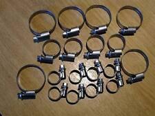 Radiator Cooling hose clip set, all hoses, Mazda MX-5 mk1, Eunos, MX5, 18 clips