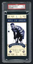 PSA 9 1998 Full Ticket Final Season Toronto Maple Leaf Gardens CHARLIE CONACHER