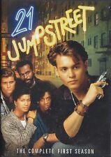 21 JUMP STREET - 1st Series. Johnny Depp, Dustin Nguyen (2xDVD BOX SET 2009)