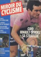 MIROIR DU CYCLISME 1982 N 317 BERNARD HINAULT: LE GIRO