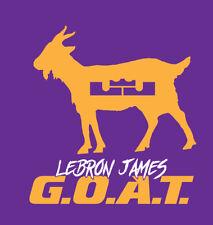 0b9507ca512a Lebron James G.O.A.T. shirt GOAT Los Angeles Lakers basketball MVP King LBJ  LAL