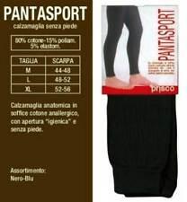 Calzamaglia uomo Prisco lunga in cotone con apertura senza piede art Pantasport