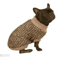 Dog Puppy Chihuahua Pomeranian Brown Mixed Yarn Sweater