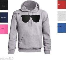 Funny Sweatshirt Glasses Cool HOODIE  Sunglasses  SIZES S-XL