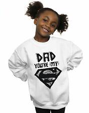DC Comics Girls Superman Super Dad Sweatshirt