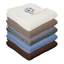 Pure Warmth Micro Fleece Electric Heated Warming Blanket Digital