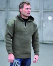 Mil-Tec Österreichischer Alpin Pullover Wolle verschiedene Farben und Größen