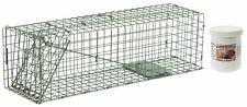 "Duke #2 Model 1105 Standard Single Door Cage Trap Value Package - 24"" X 7"" X 7"""
