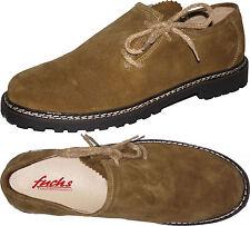 Haferl- Trachtenschuhe mit Seitenschnürung Trachtler Schuhe natur