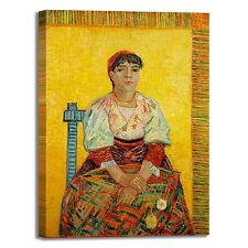 Van Gogh l'italiana design quadro stampa tela dipinto telaio arredo casa