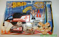 WWE Rumblers Slam-Bulance Slideout Playset - W/Sheamus Figure New!!!!!