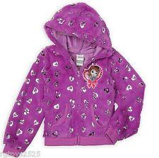 Disney Princess Sofia The First Hoodie Jacket size 5 6 6x New Girls Plush