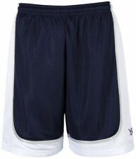 k1x Hardwood - League Uniform Basketball Shorts mk2 - navy / weiß / silber