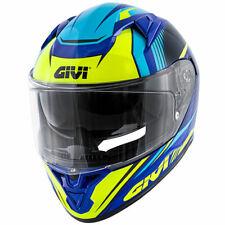 Givi Casco Integral 50.6 Stuttgart Azul Amarillo Blue/Yellow Full Cara