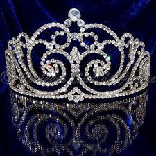 """bijou tête cheveux Diadème élection Miss Accessoire de mariage cristal """"Héra"""""""