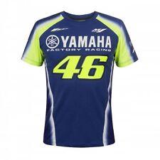 2018 Valentino Rossi VR46 Moto GP YAMAHA T Shirt Bleu 46 homme nouveau officiel