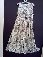 Sandy Cotton rayon blend gardenia floral sundress (2 styles)