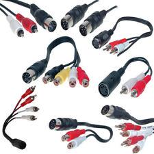 5-Pol DIN-Kabel Verlängerung Kupplung Cinch Stecker Buchse Diodenkabel 0,2m-5m