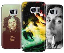 Bob Marley Raggie Music Lable Rasta Rubber Phone Cover Case fits Samsung Galaxy