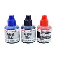 12ML S6320 Refill Ink For Refilling Ink Whiteboard Marker Pens Black/Red/Blue