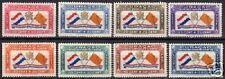 Curacao 1941 NVPH Airmail 18-25  MLH  VF