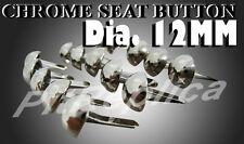 YAMAHA G6 S G6S G6SB G7 S G7S CHROME SEAT BUTTON 100PCS #3