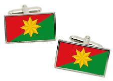 Casanare (Colombia) Flag Cufflinks in Chrome Gift Box