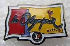 Pin's Magasin E Leclerc Les Olymprix #A3