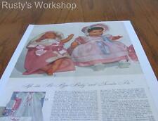 1940's Effanbee (F&B) SWEETIE PIE & Horsman BI-BYE-BABY Wards catalog AD (Repro)