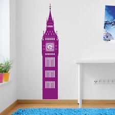 LONDON BIG BEN CLOCK NEW WALL DECAL STICKER VINYL DECOR ART DECORATIVE DIY DECO