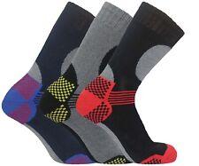 Mens Ski Socks Wool Thermal Outdoor Work Boot Walking Winter Camping Sock Lot UK