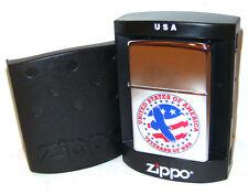 Zippo Lighter 2004 US Veterans of War - Rare