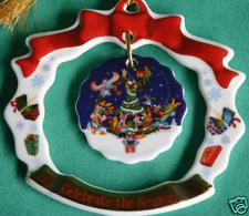DISNEY FAB 5 CELEBRATE THE SEASON CHRISTMAS ORNAMENT DISNEY DANGLE ORNAMENT NEW