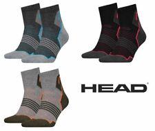 2 Pack Head Unisex Hiking Quarter Sock