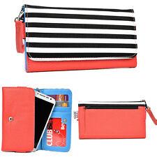 "Women's Cute Metro Glam Universal Smart Cell Phone Wristlet Wallet Case 5.9"""
