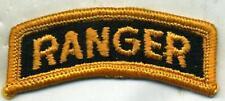 Vietnam Era US Army Yellow & Black Ranger Tab Patch