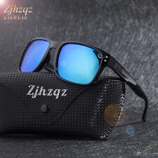 Polarized Sunglasses for Men Women Driving Fishing Unisex Vintage Rectangular